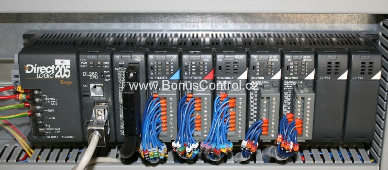 PLC modulární